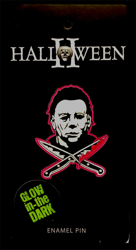 Halloween Michael Myers Enamel Pin (Glow In The Dark)