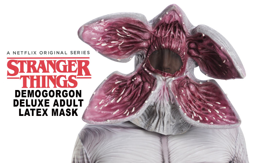 Stranger Things Demogorgon Deluxe Adult Latex Mask