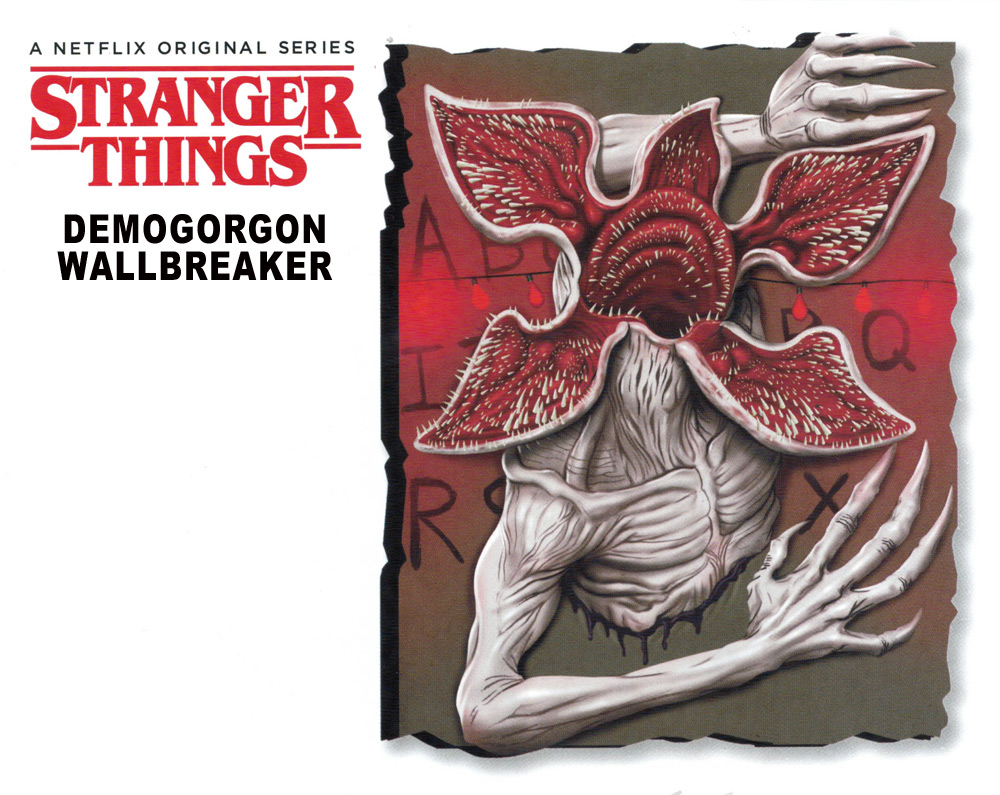 Stranger Things Demogorgon Wallbreaker Giant 3D Display Prop
