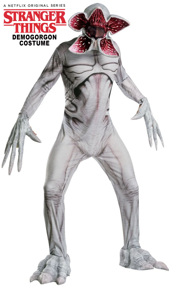 Stranger Things Demogorgon Deluxe Adult Costume STD Standard Size