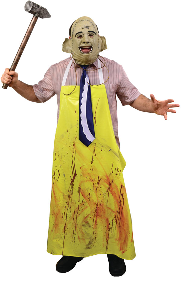 Texas Chainsaw Massacre 1974 Leatherface Adult Costume and Mask