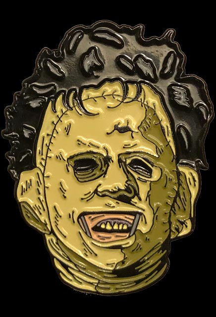 Texas Chainsaw Massacre Leatherface Killer Enamel Pin