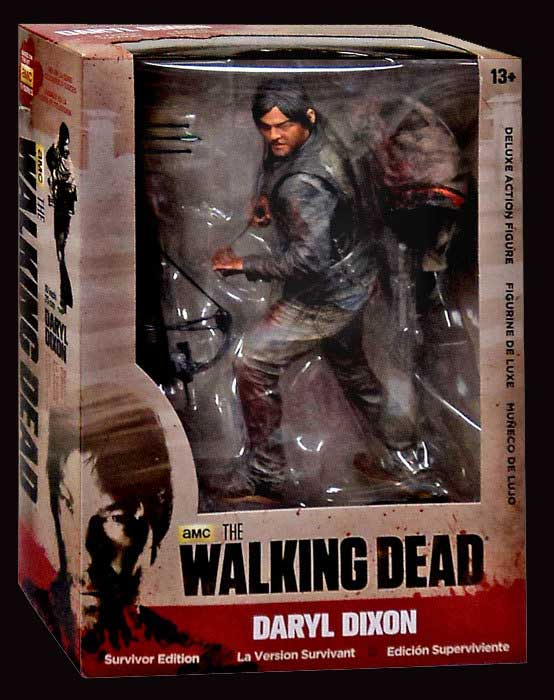 "Walking Dead Daryl Dixon Survivor Series 10"" Deluxe Action Figure"
