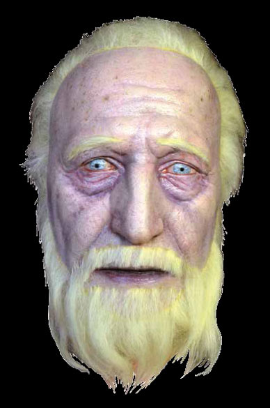 Walking Dead Hershel Severed Head Prop Replica