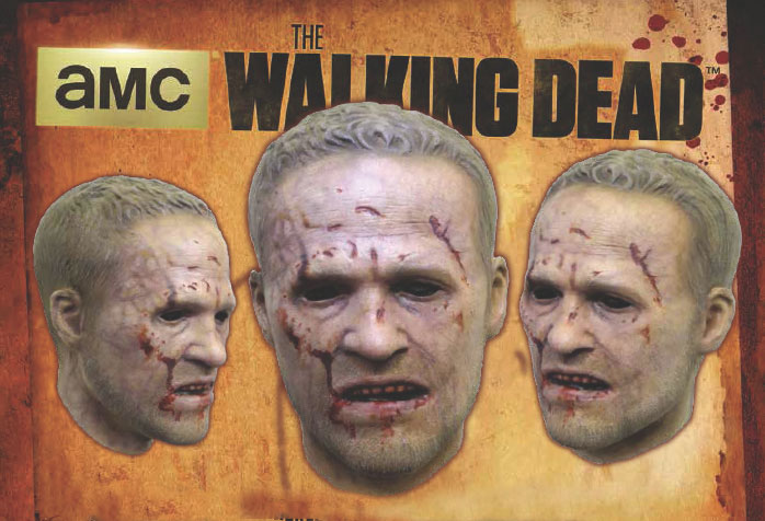 Walking Dead Merle Walker Latex Halloween Mask