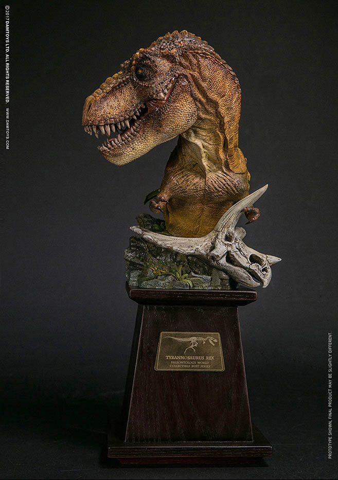 T-Rex Yellow Museum Collection Series Bust
