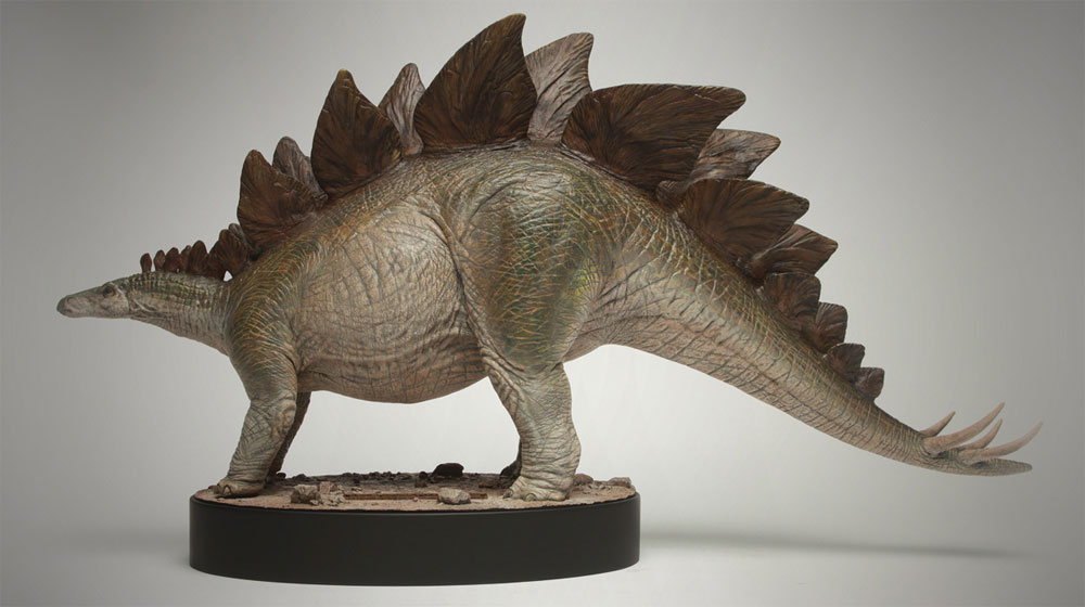 Jurassic Park The Lost World Stegosaurus Maquette