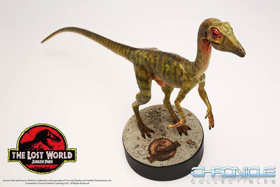 "Jurassic Park The Lost World Compsognathus 30"" Long Life-Size Statue Maquette"