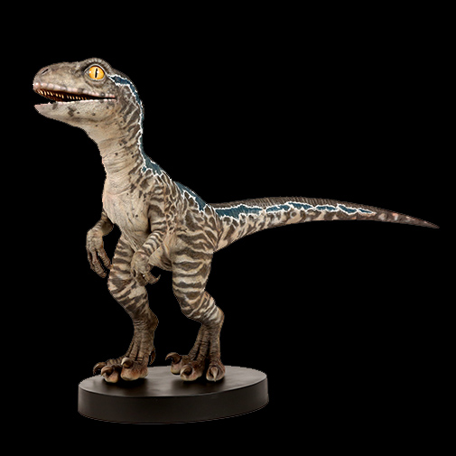 Jurassic World Life-Size Baby Blue Statue