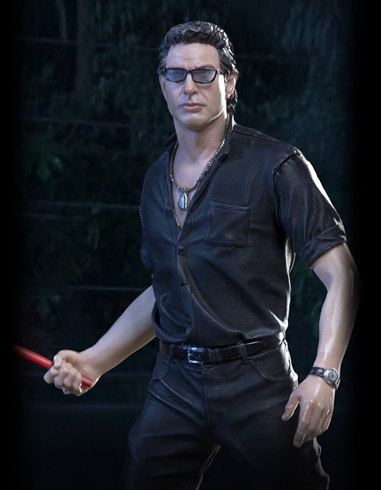 Jurassic Park Dr. Ian Malcolm 1/10 Art Scale Statue by Iron Studios
