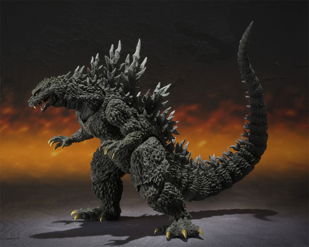 Godzilla 2000 Millennium Special Color Edition Figure S.H. MonsterArts