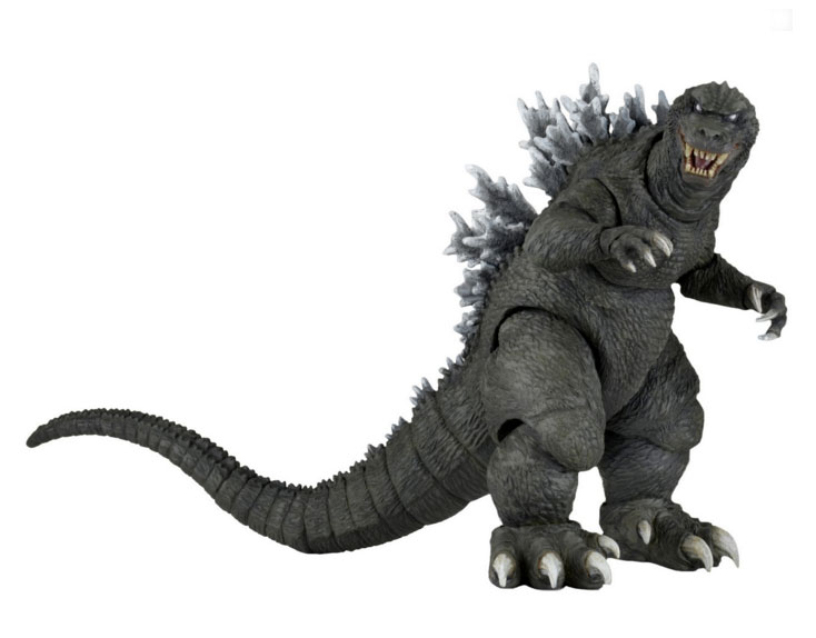 "Godzilla 2001 Godzilla Giant Monsters All-Out Attack 12"" Long Head to Tail Figure"