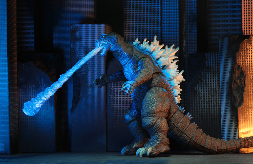 "Godzilla 2001 Atomic Blast 12"" Head to Tail Figure"