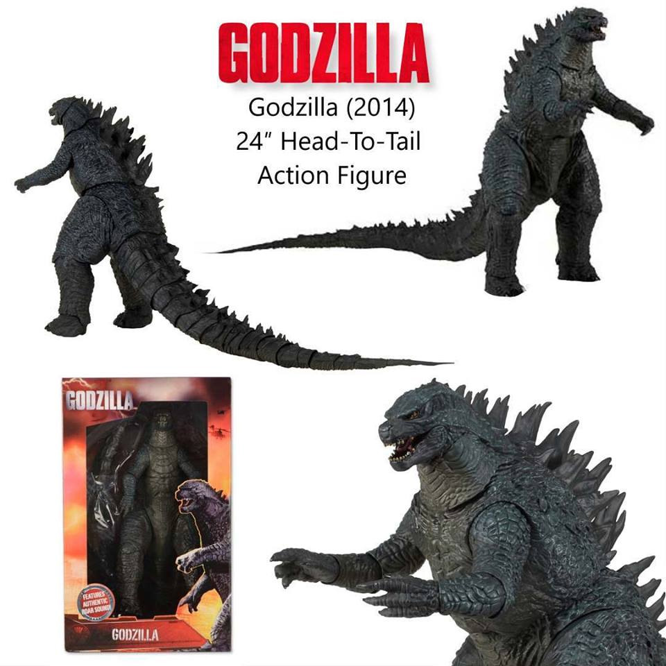 Godzilla 2014 24-Inch Head to Tail Talking Action Figure