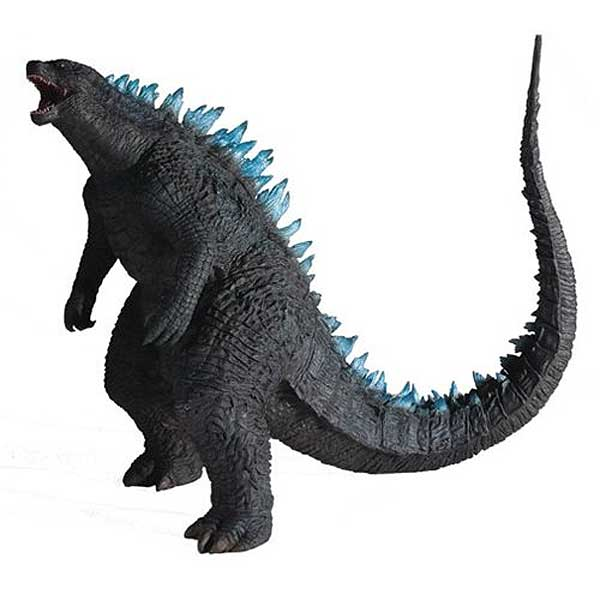 "Godzilla 2014 Blue Dorsal Version 12"""" Vinyl Figure by X-Plus"
