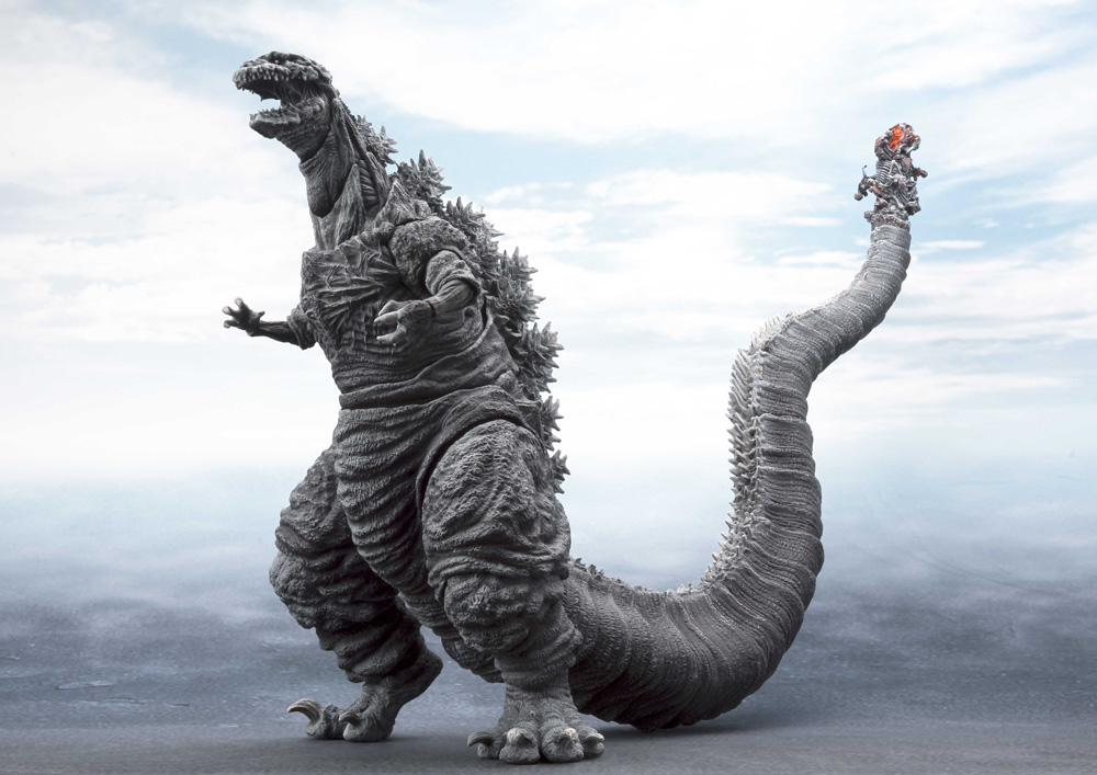 Godzilla 2016 a Shin Godzilla Forth Version S.H MonsterArts Figure by Bandai Japan