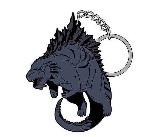 Godzilla 2017 Monster Planet Pinched Keychain Planet of the Monsters
