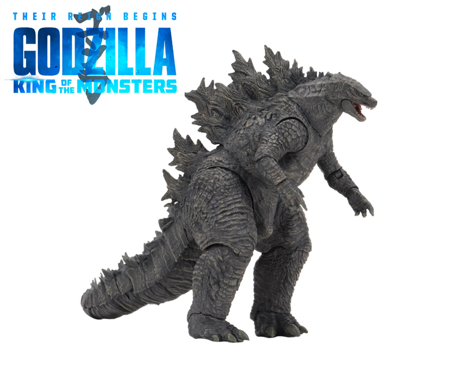 "Godzilla 2019 King Of the Monsters (Version 1) 12"" Head-to-Tail Figure by Neca"