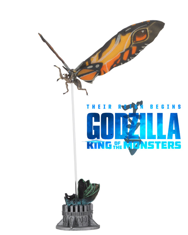 Godzilla 2019 King Of the Monsters Mothra Figure by Neca