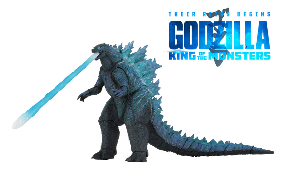 "Godzilla 2019 King Of the Monsters (Version 2) 12"" Head-to-Tail Figure by Neca"