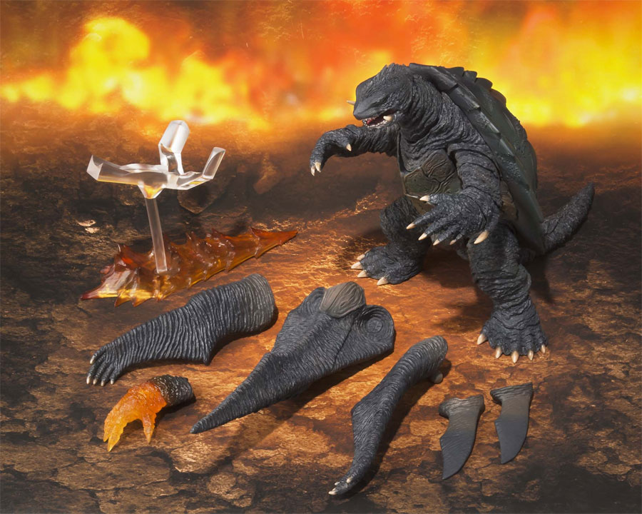 Gamera 1999 S.H. MonsterArts Figure by Bandai