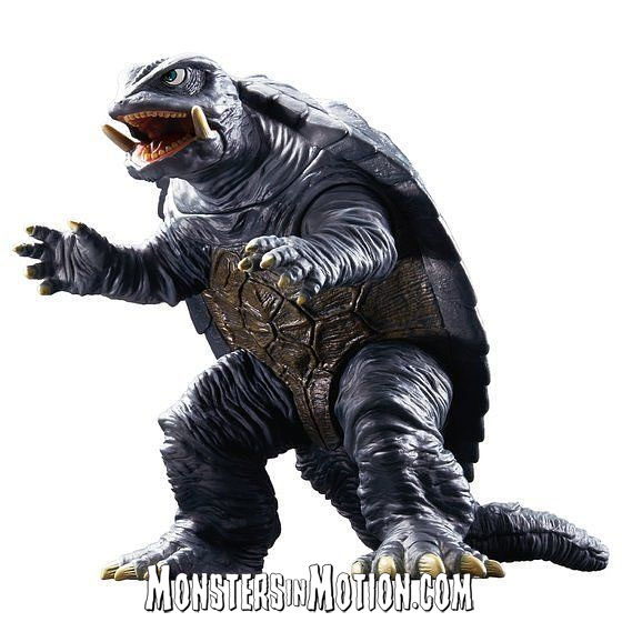Gamera 1995 Movie Monster Series Vinyl Figure by Bandai Japan