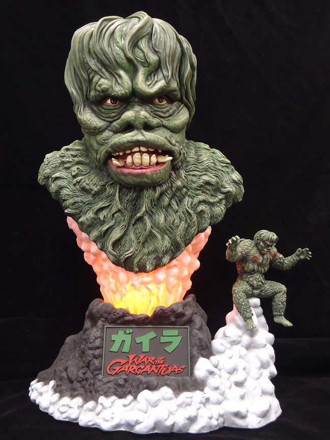 War Of The Gargantuas Gaira Big Head Bust Model Kit