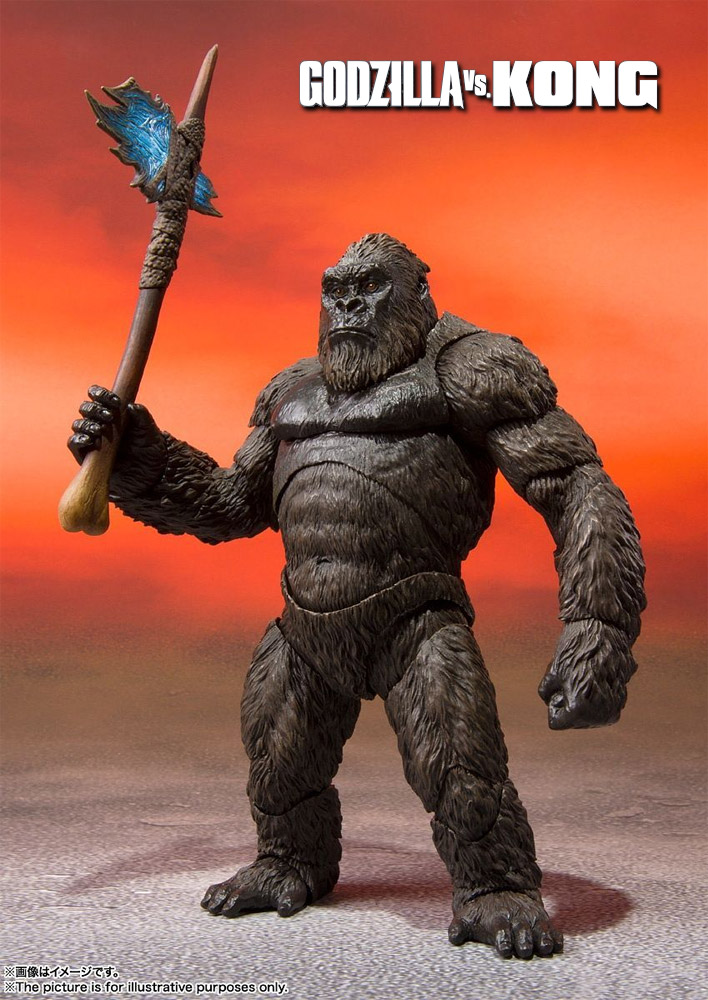 Godzilla Vs. Kong 2021 Kong S.H. MonsterArts Figure