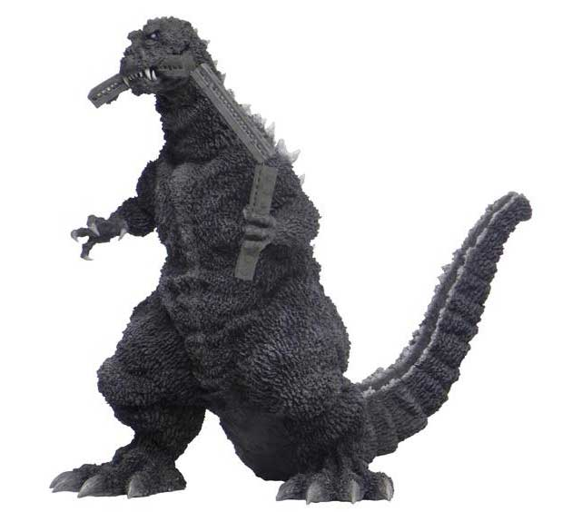 Godzilla 1954 Train In Mouth Vinyl Figure by X-Plus