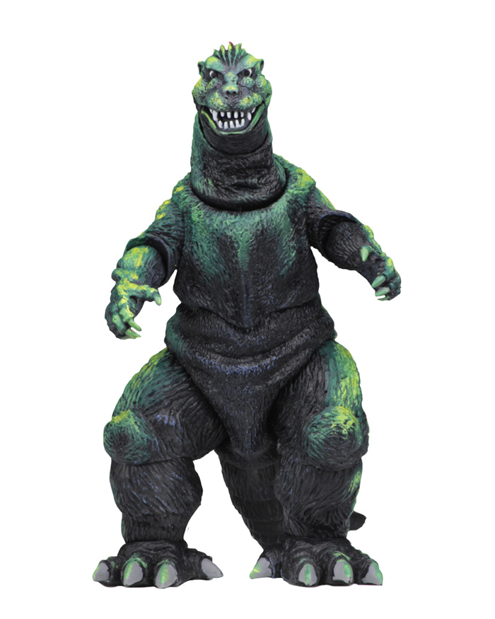 Godzilla 1956 Movie Poster Godzilla Head to Tail 12-Inch Action Figure