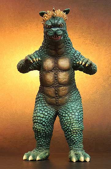 Godzilla 1969 All Monsters Attack Gabara Large Monster Vinyl Figure by X-Plus