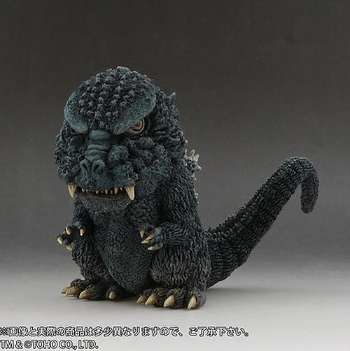 Godzilla 1984 Deforeal Super-Deformed Figure by X-Plus