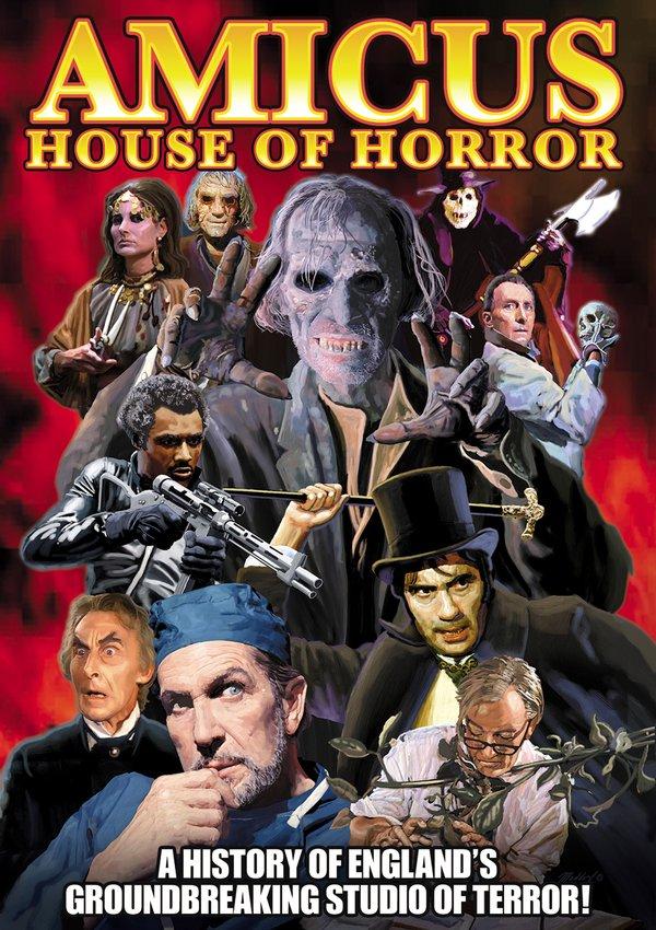 Amicus: House of Horror - A History of England's Groundbreaking Studio of Terror (2-DVD