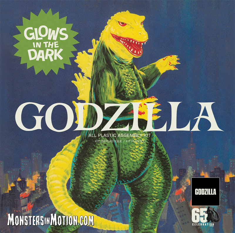 Godzilla Aurora 1/600 Scale Glow Model Kit Re-Issue by Atlantis