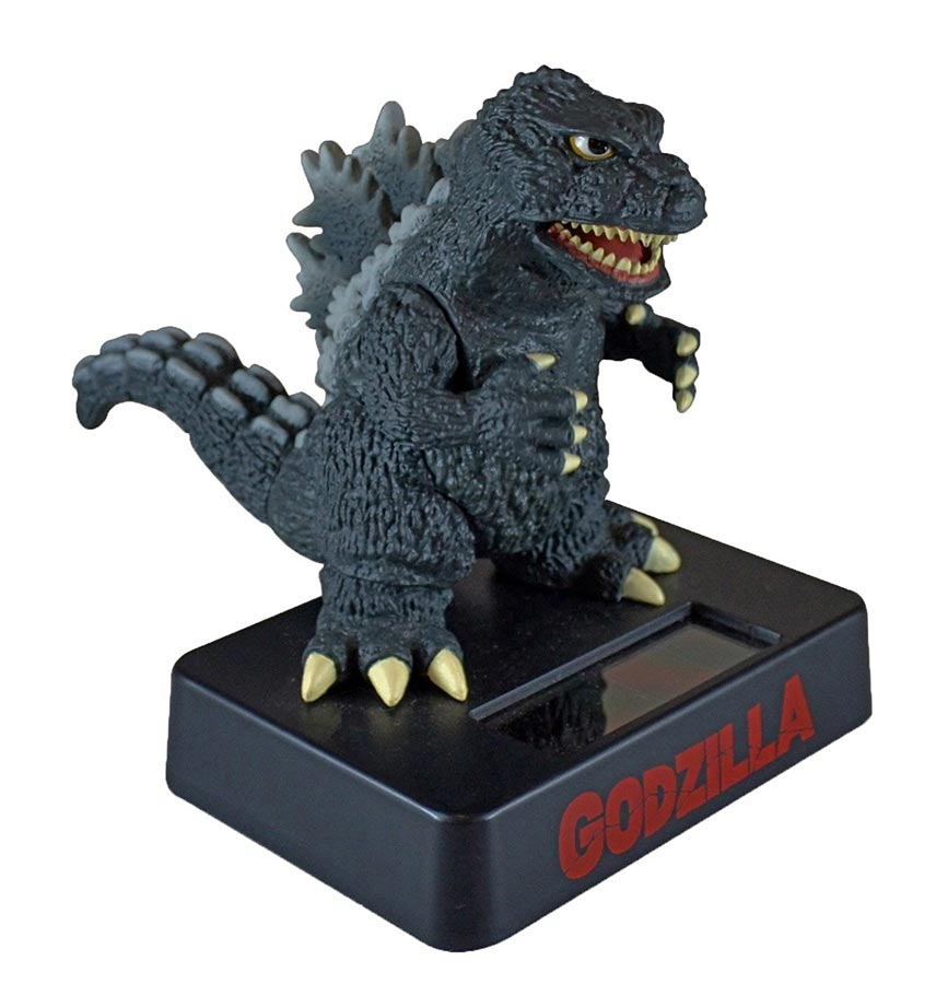 Godzilla Solar Mascot Moving Toy from Japan