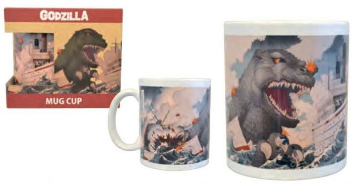 Godzilla Mug The Giant Monster That Came From The Sea