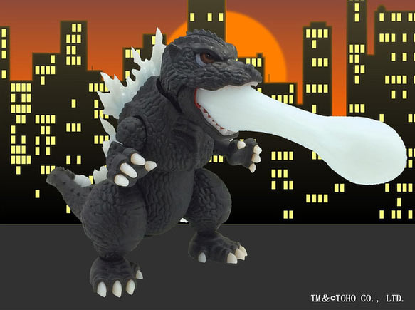Godzilla Chibi-Maru Model Kit by Fujima