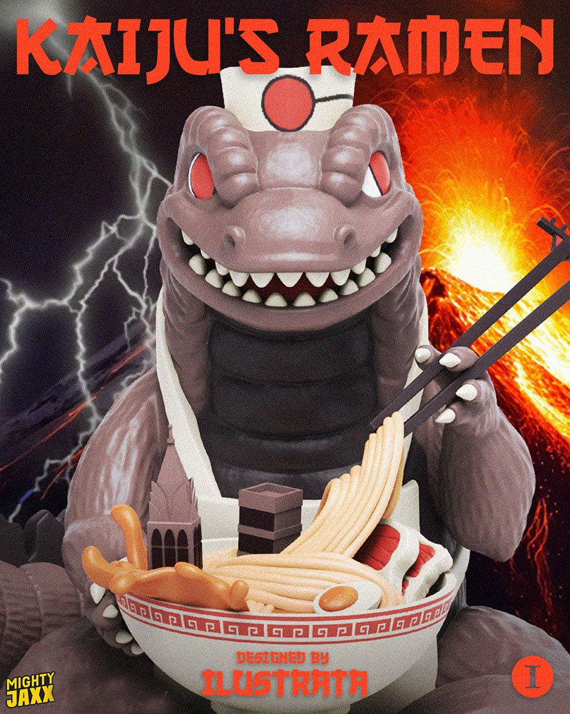 Godzilla Kaiju Ramen Vinyl Collectible Figure
