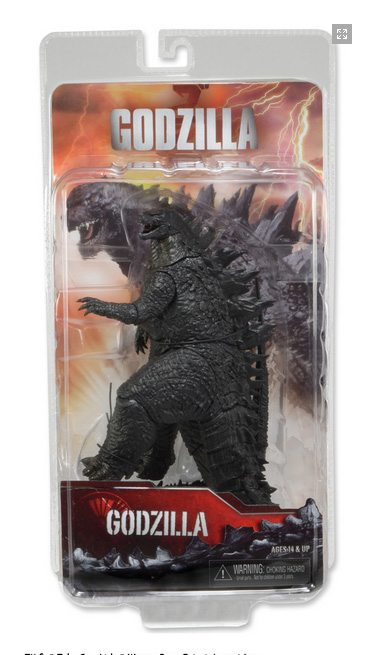 "Godzilla 2014 12"" Head to Tail Action Figure (6"" Tall)"