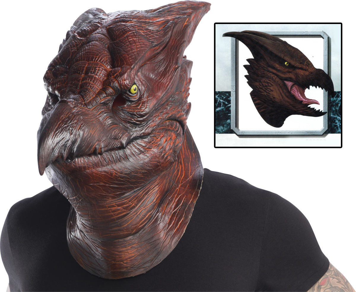 Godzilla 2019 King of the Monsters Rodan Deluxe Latex Mask
