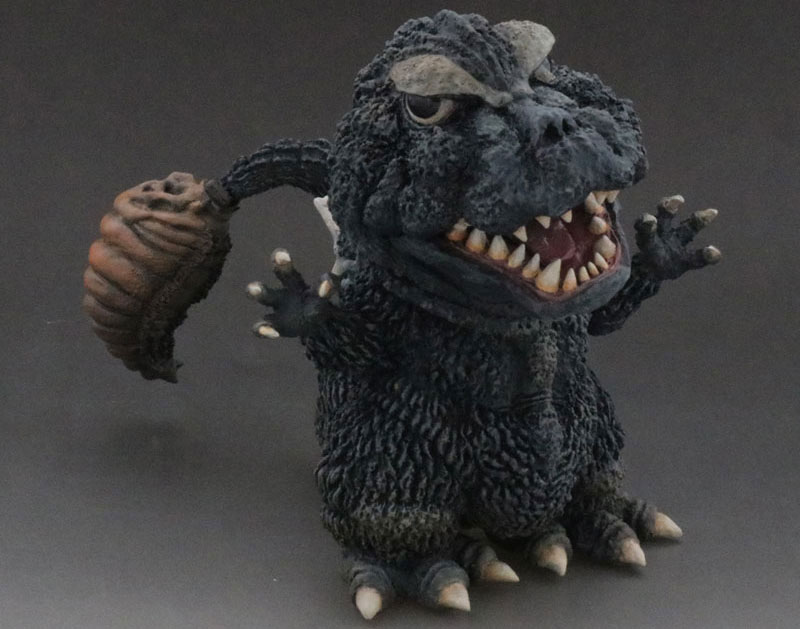 Godzilla Vs. Mothra DefoReal Super Deformed Vinyl Figure by X-Plus