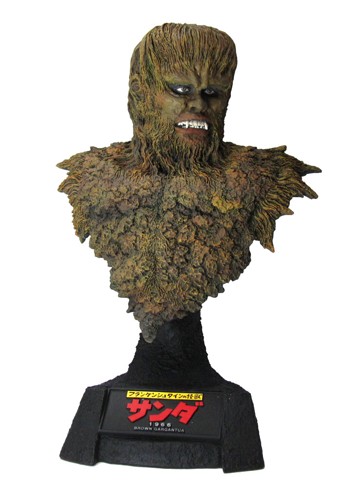 War of the Gargantuas Sanda Brown Gargantua Bust by X-Plus