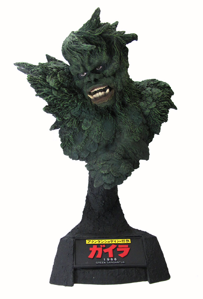 War of the Gargantuas Gaira Green Gargantua Bust by X-Plus