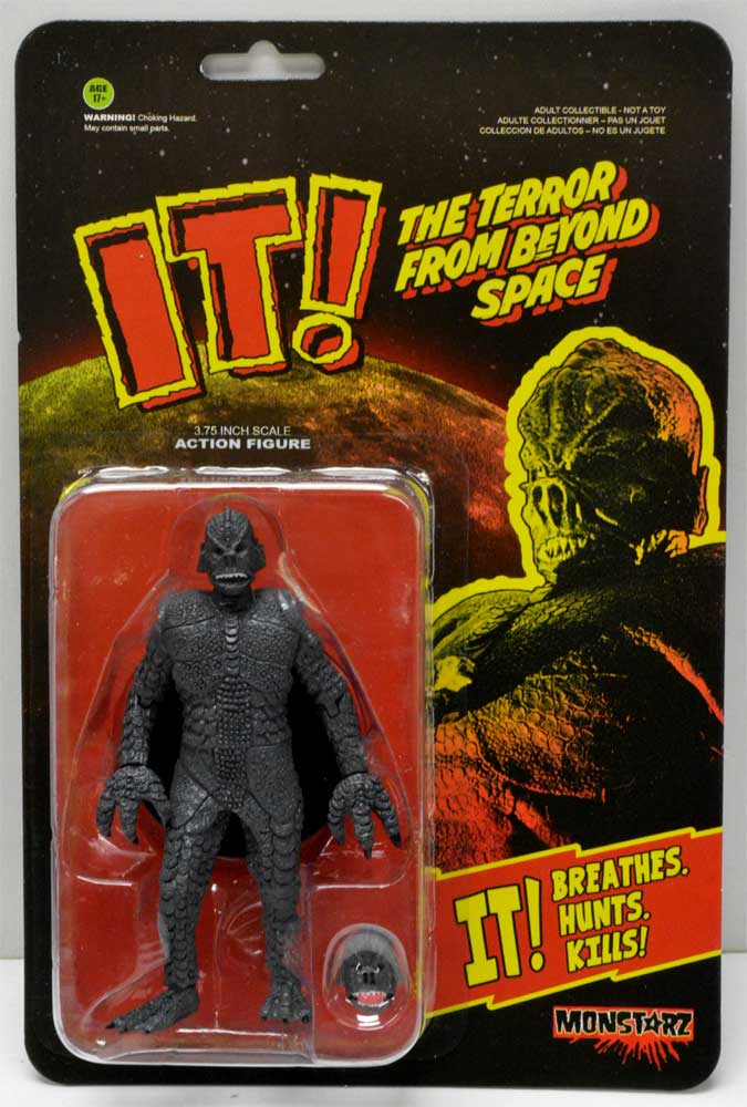 "IT! The Terror From Beyond Space 3.75"" Action Figure B/W Version"