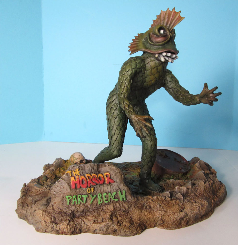 Horror of Party Beach Monster Model Kit