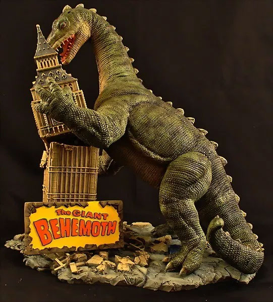 Giant Behemoth Big Ben Diorama Model Kit