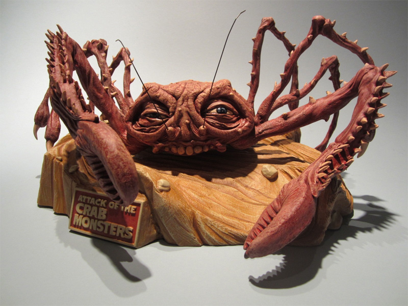 Attack of the Crab Monsters Giant Crab Monster Model Kit