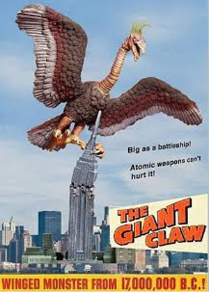Giant Claw with Building Diorama Resin Model Kit