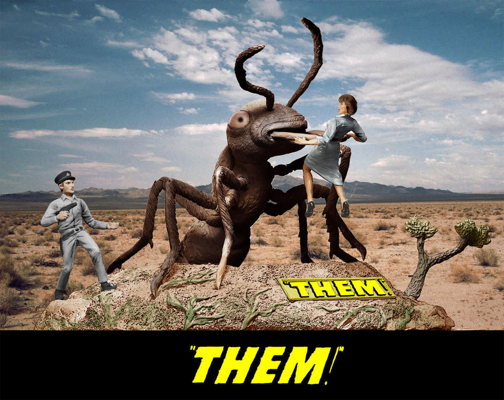 Them 1/30 Scale Giant Ant Model Kit