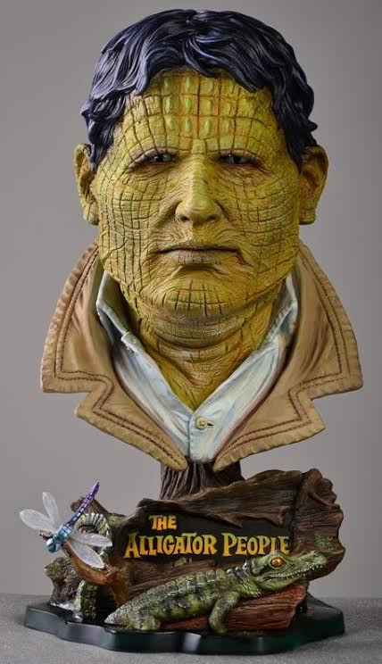 Alligator People 16 Inch 1/2 Scale Big Head Bust Model Kit